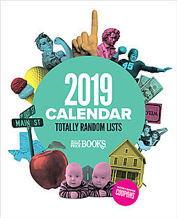 2019 Half Price Books Coupon Calendar Free with $30 Order