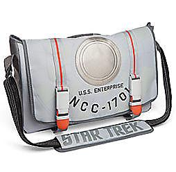 Star Trek U.S.S. Enterprise Messenger Bag: Free With $100 Order