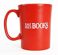 Half Price Books Tall Mug: Free with $100 Order