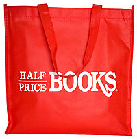 Half Price Books Reusable Tote: Free With $15 Order