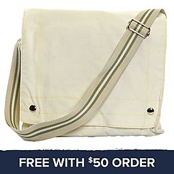 Canvas Bag: Free With $50 Order