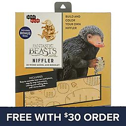 IncrediBuilds Fantastic Beasts Niffler 3D Model Set: Free With $30 Order