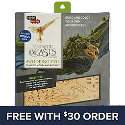 IncrediBuilds Fantastic Beasts Swooping Evil 3D Model Set: Free With $30 Order