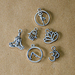 Yoga Charm Set: Free with online purchase