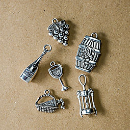 Wine Charm Set: Free with online purchase