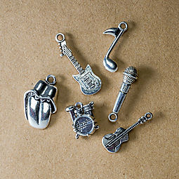 Rock & Roll Charm Set: Free with online purchase