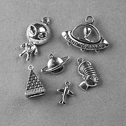 FREE Ancient Aliens Charm Set