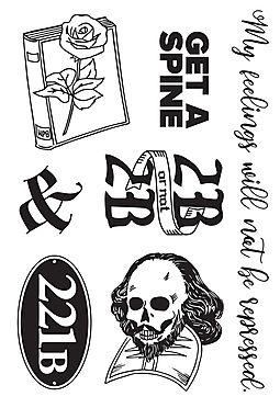 Tattoo/Sticker Sheet: Free With Online Order